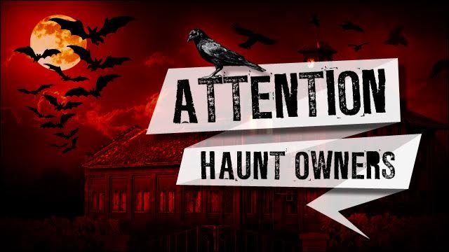 Attention Iowa Haunt Owners
