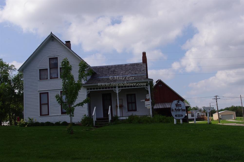 Villisca Axe Murder House Villisca Iowa Real Haunted Place